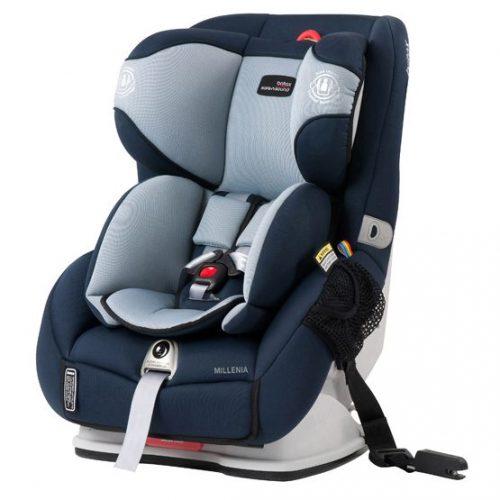 Midnight navy Britax Safe-n-Sound Millenia™ Convertible Car Seat