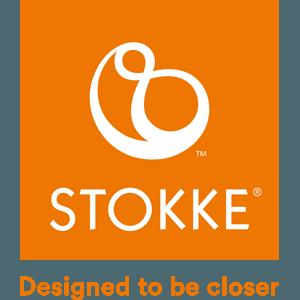 Stokke brand logo - Designed to be closer