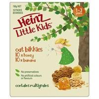 Heinz Little Kids Oat Bikkies Honey & Banana