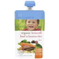 Bellamy's Organic Ready To Serve Baby Food 6m+