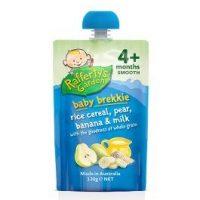 Rafferty's Garden Baby Brekkie Rice Cereal, Pear, Banana & Milk