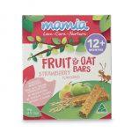Mamia Fruit & Oat Bars 12m+ Strawberry 90g (6x 15g bar)