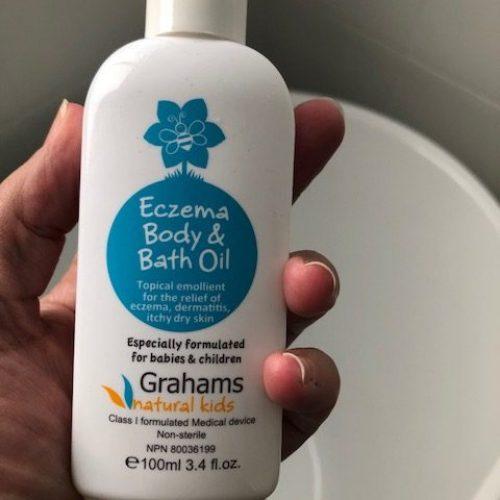 Grahams Natural Baby Body Bath Oil Reviews - Tell Me Baby