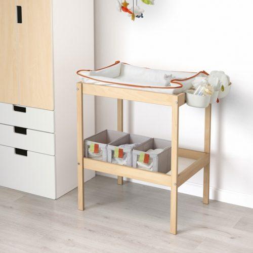 Ikea Wooden Changing Table Off 72, Beech Desk Ikea