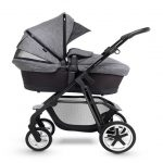 Silver Cross Pioneer Special Edition Pram Monomarque with extended canopy with ventilation