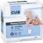 CUB Nappy Pants Size 4 Toddler 10-15kg