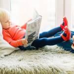 Toddler reading - Tell Me Baby