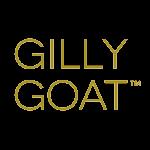Gilly Goat Brand Logo - Gold
