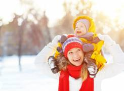 Tips for a family snow trip with a baby or toddler
