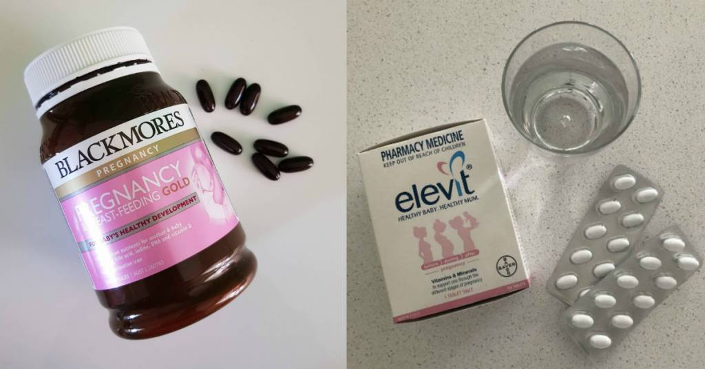 Elevit Pregnancy Multivitamin Blackmores Pregnancy & Breastfeeding Gold