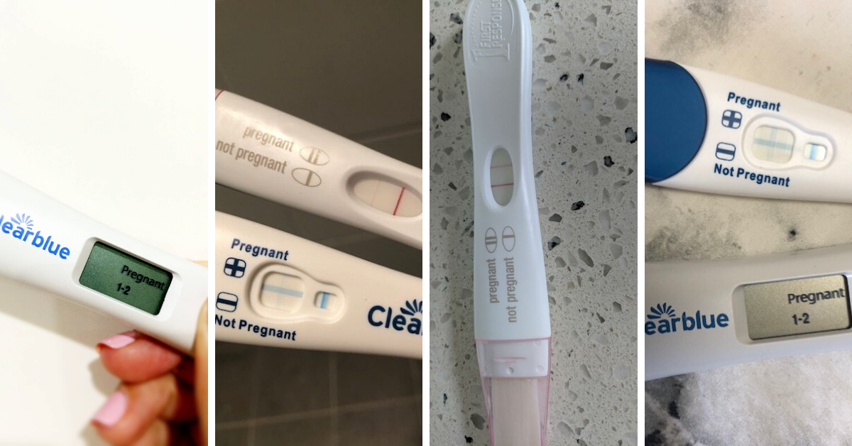 Clearblue Vs First Response Pregnancy Test Tell Me Baby